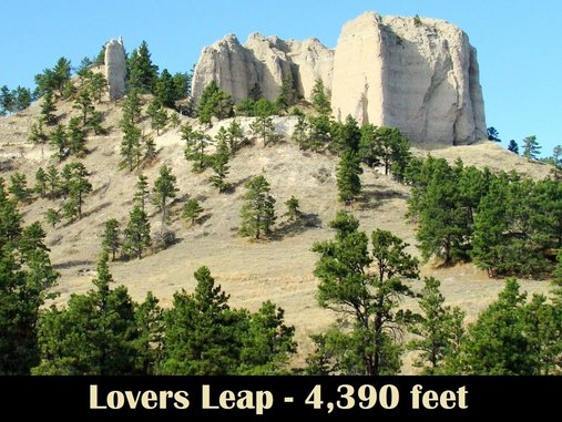 Lovers Leap Trail Sd